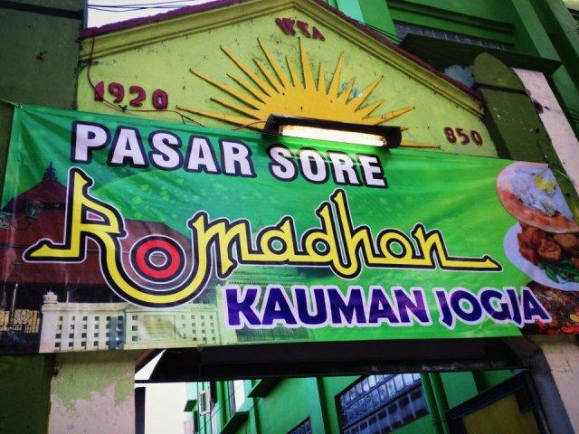 Pasar Sore Ramadhan Kauman Jogja