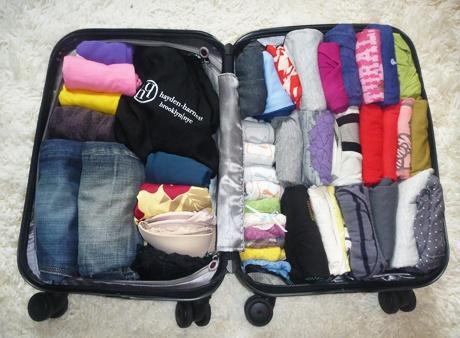 Menyusun Barang Bawaan Saat Packing
