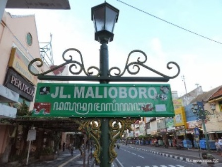 Plang Malioboro