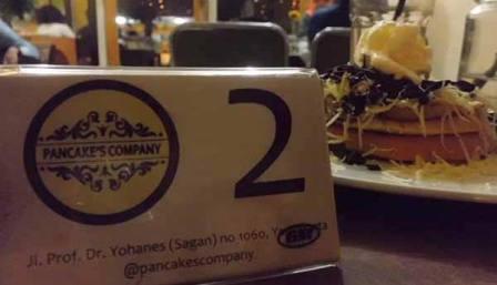 Cafe Pancakes Company Jogja