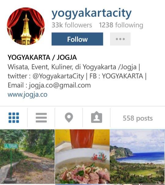 Instagram Yogyakartacity