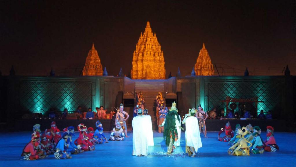 Pertunjukan Sendratari Ramayana Prambanan